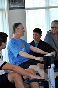 Fine tuning Web technique with Concept2 master instructor Terry Smythe