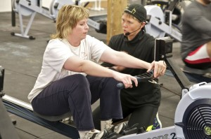 UCanRow2/Concept2 master instructor Terry Smythe gives personal rowing technique review