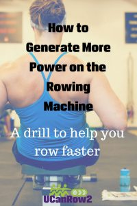 How to generate power on the rowing machine - a drill to help you row faster from https://ucanrow2.com Try this technique on these FREE low-impact rowing workouts: http://bit.ly/GetFlywheelFit #rowingworkouts #row #rowing #crossfit #wod #lowimpactworkout #rowingtechnique #fitness
