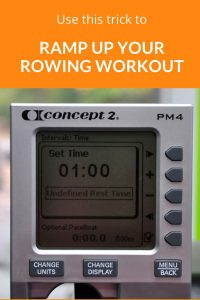 Love interval workouts? Use this hack - undefined rest - to make rowing intervals on the #Concept2 rowing machine a breeze. We give you a workout to try with it, too. Want more interval rowing workouts to burn fat and build strength? Our #FlywheelFrenzy rowing workout training program will do the trick. http://bit.ly/FlywheelFrenzy #rowing #fitness #rowingworkouts #crossfit #wod #rowingtechnique