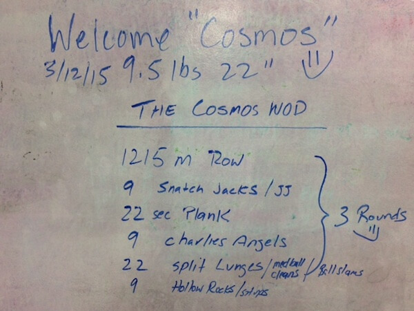 Cosmos workout