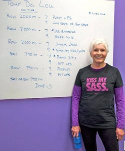 Lou's 79th birthday workout