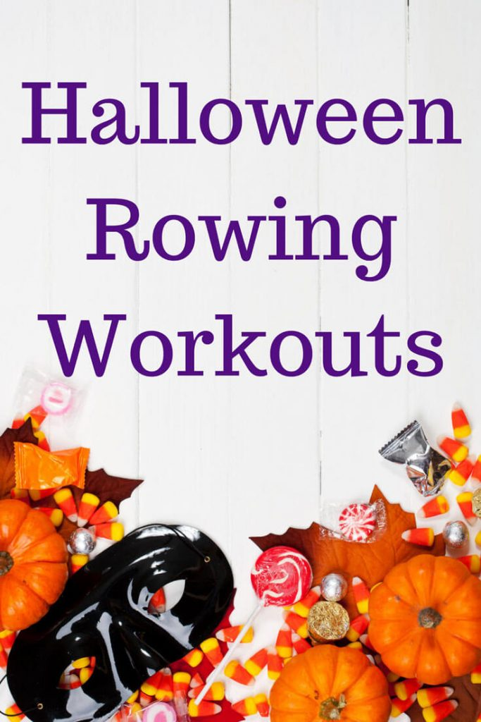 Make your Halloween sweet with these candy-themed Halloween workouts. Use a rowing machine, a SkiErg or a BikeErg, they're all ghoulishly good! #halloween #halloweenworkout #fitness #rowingmachine #rowingworkout