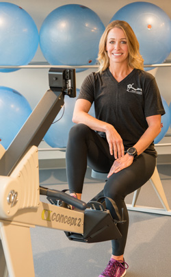 Are you ready to get certified to teach indoor rowing? Master Instructor Katie Rosso Recker has a huge toolkit of rowing experience that she's ready to share with you. Read on to learn more about her and find where you can #getcertified with her. #indoorrowing #ucanrow2 #concept2 #certifiedpersonaltrainer